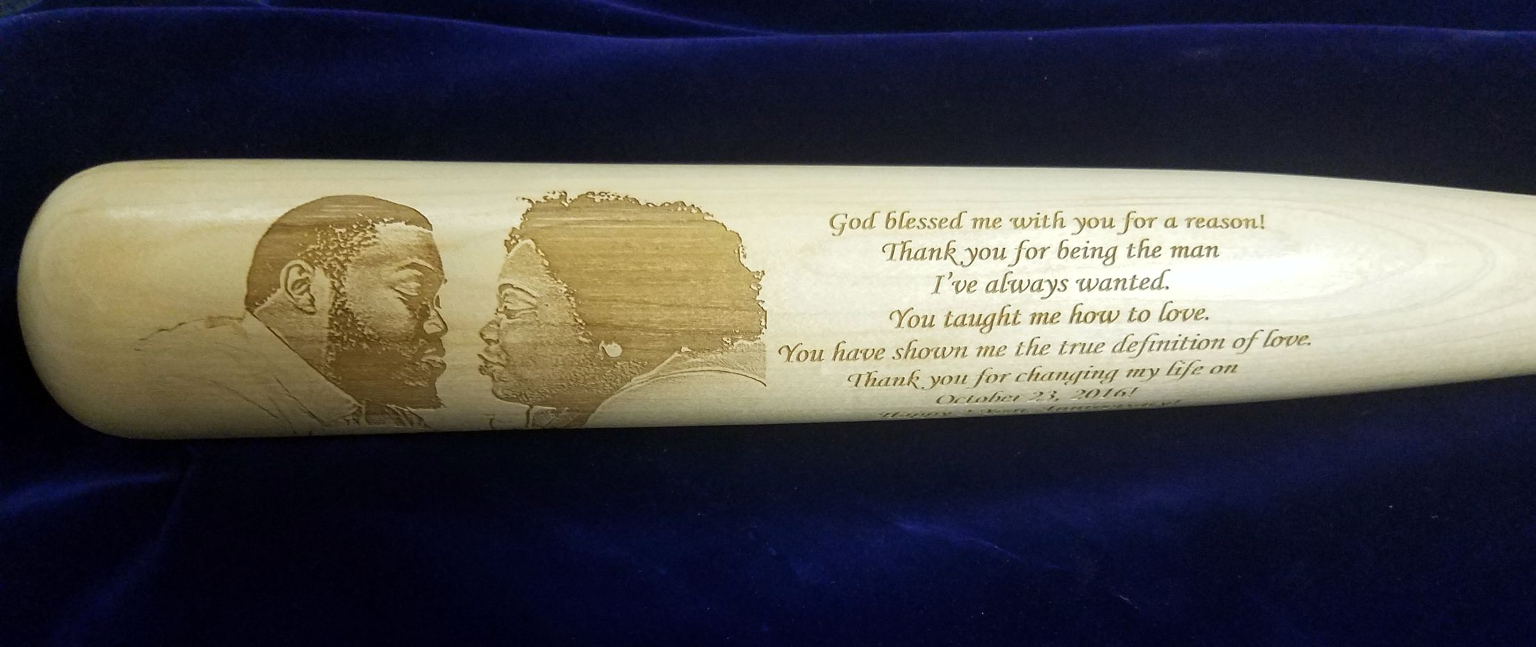 Custom Baseball Bats | With Your Photo Engraved