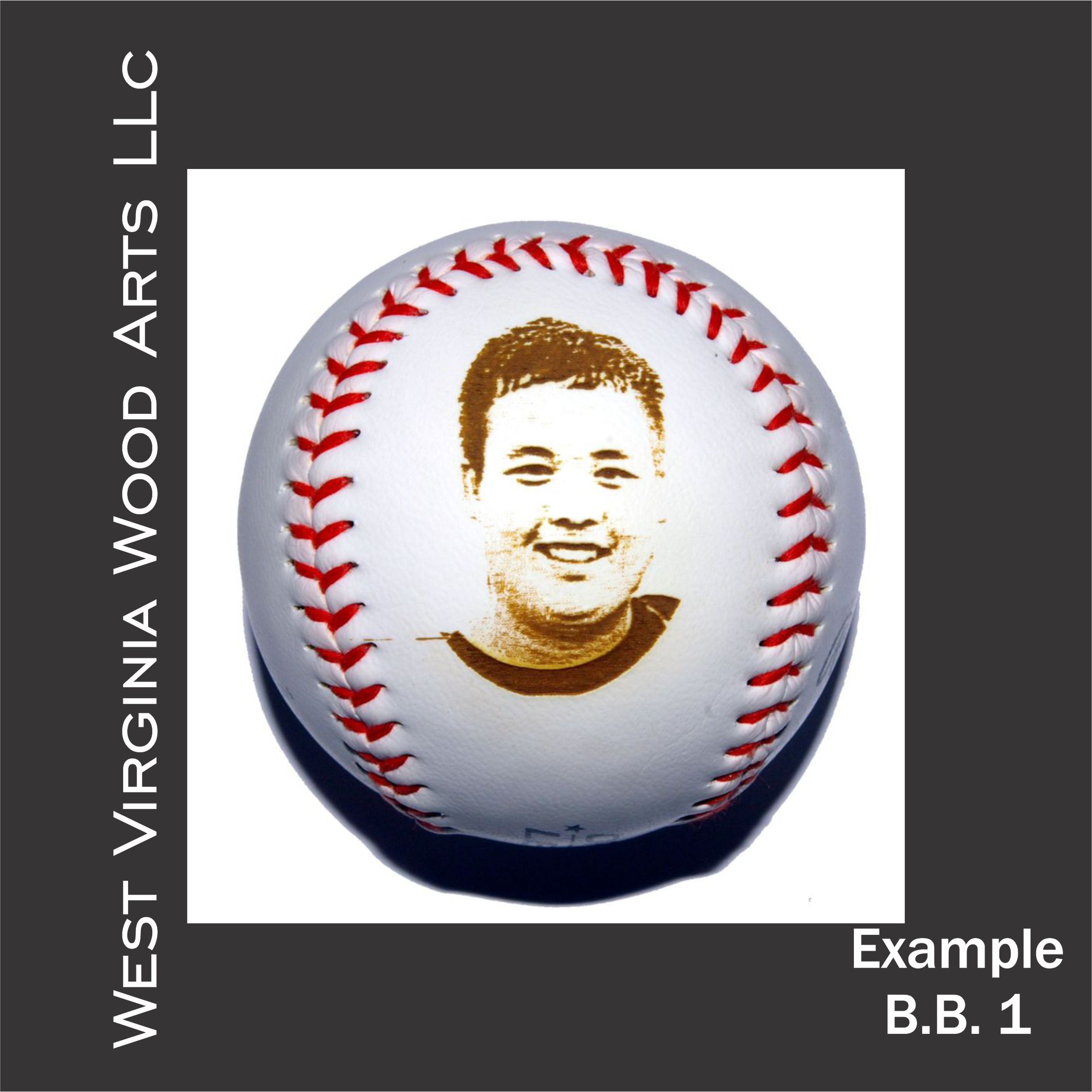 personalized baseball with photo engraving main link examples