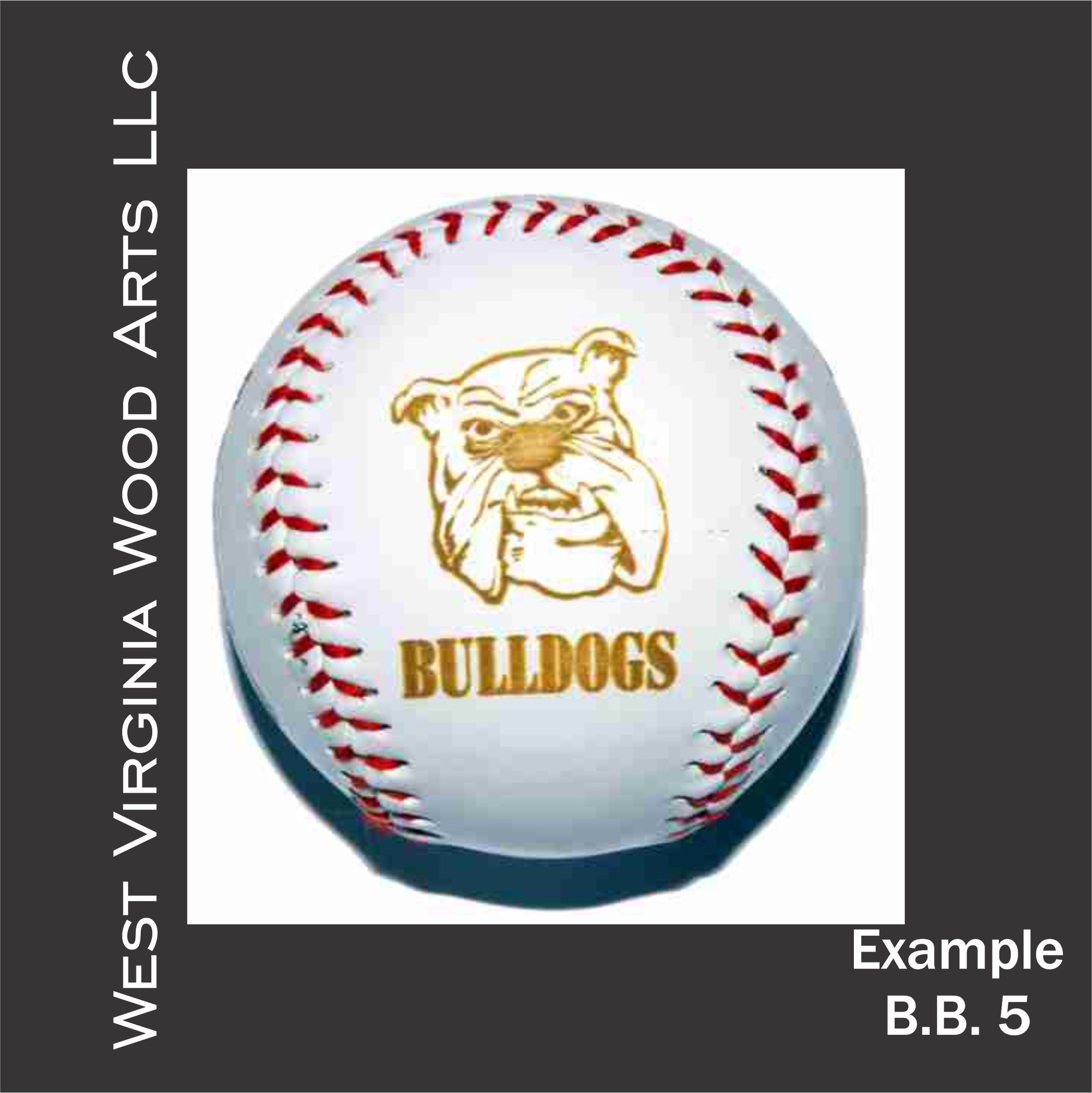 personalized baseball with graphic engraving main link example
