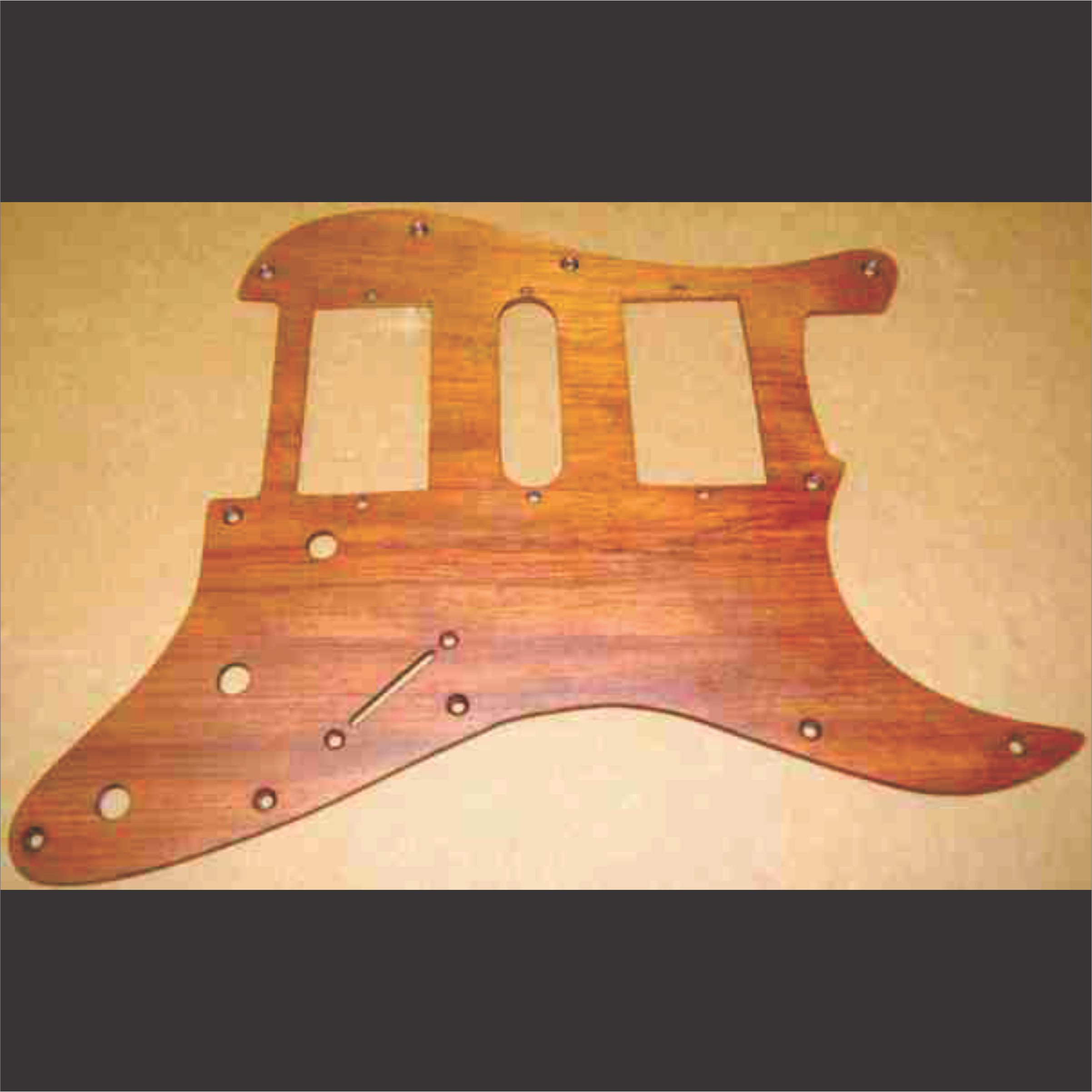 Custom Guitar Pickguards | West Virginia Wood Arts