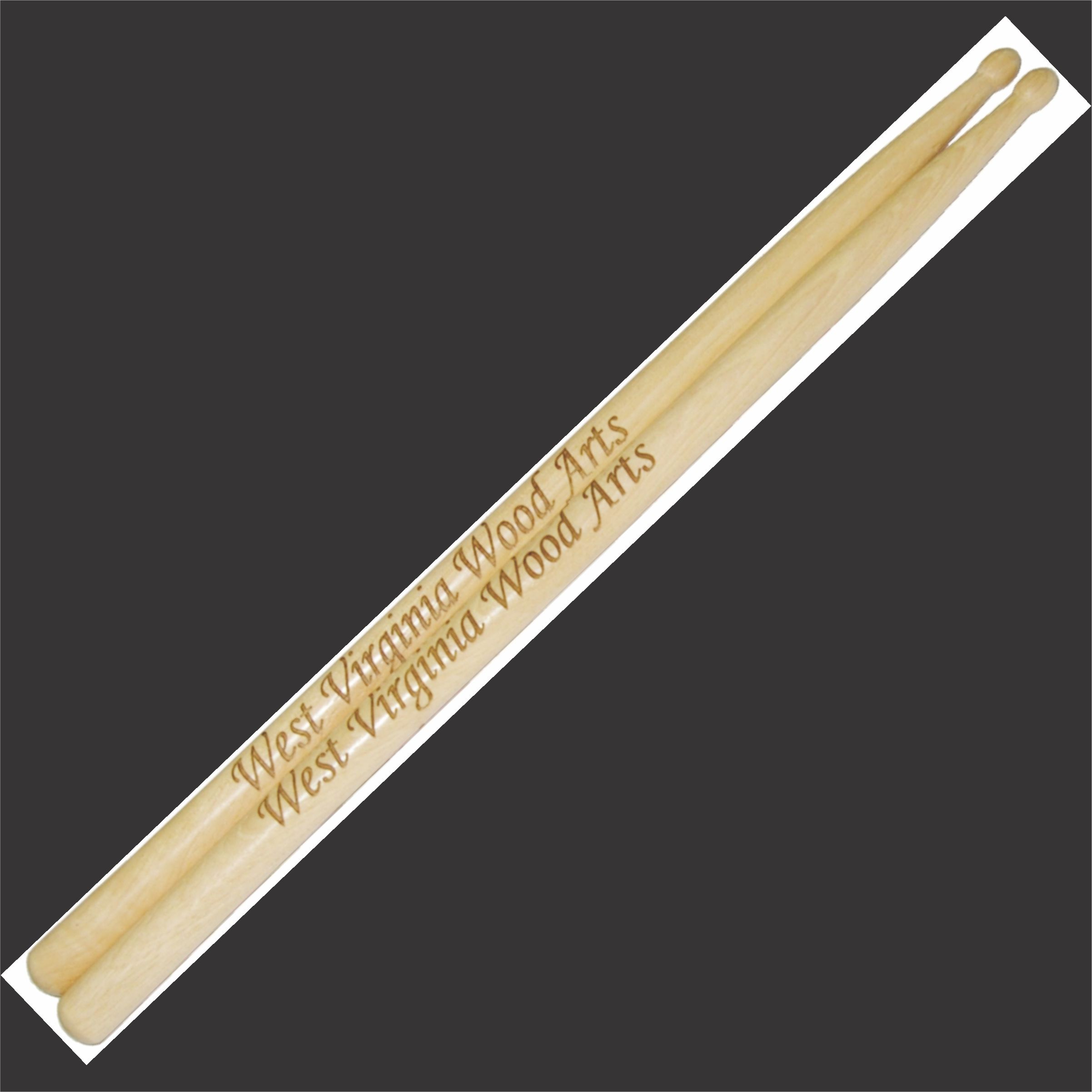 personalized drumstick set with wording only main link example
